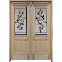Puerta doble 150 x 204