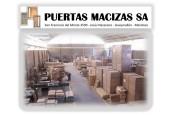 Puertas Macizas S.A.  (FABRICA)